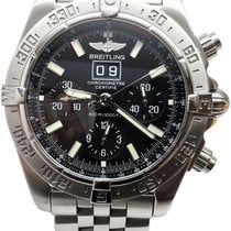 Breitling Blackbird Steel 44mm Black No numerals