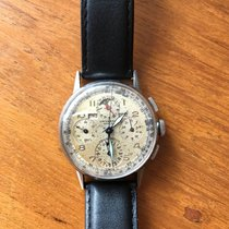 Universal Genève Acier 36,5mm Remontage manuel 22536 occasion France, Paris