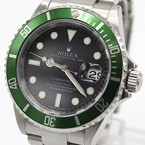 Rolex 16610LV Steel 2008 Submariner Date 40mm pre-owned