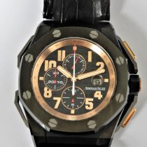 Audemars Piguet Royal Oak Offshore Ceramic 48mm Black Arabic numerals
