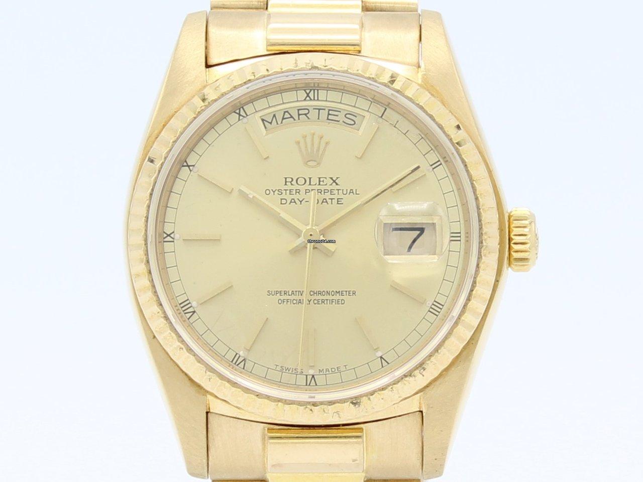 9bdd4bc4438f Rolex Day-Date - Precios de Rolex Day-Date en Chrono24