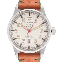 Terra Cielo Mare Steel 44mm Automatic TC7103AC2PA new