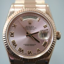 Rolex Day-Date 36 Ouro rosa 36mm Champanhe Portugal, Lisboa