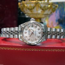 Rolex Lady-Datejust Steel 26mm Silver
