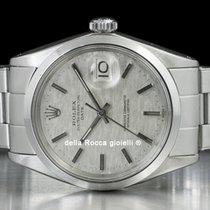 Rolex Oyster Perpetual Date Acier 34mm Gris