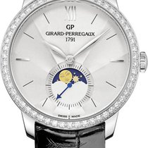 Girard Perregaux 1966 Steel 36mm Silver United States of America, New York, Airmont