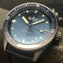 Blancpain Fifty Fathoms Bathyscaphe Cerámica 43mm Azul