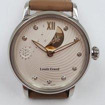 Louis Erard Emotion 64603AA11 Neu Stahl 34mm Automatik