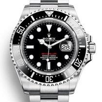 Rolex Sea-Dweller použité 43mm Černá Datum Ocel