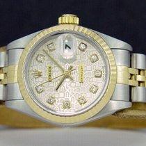 Rolex Cеребро Цвета шампань 26mm подержанные Lady-Datejust