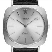 Rolex Cellini White gold 35mm Silver
