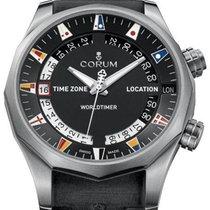 Corum Admiral's Cup (submodel) Corum Admiral Legend 47 Worldtimer A637/02744 Новые Титан 47mm Автоподзавод Россия, Moscow