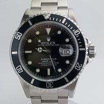 Rolex Submariner Stainless Steel Black Dial REF 16610
