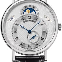 Breguet Classique White gold 39mm Silver United States of America, New York, Airmont