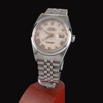 Rolex Oyster Perpetual Datejust Steel Jubile Men Size