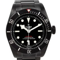 Tudor Heritage Black Bay Dark Pvd Coated Watch 79230dk-bkss...