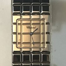 Chopard Ice Cube Ladies Stainless Steel Watch 11/8898 Box and...