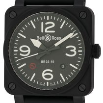 Bell & Ross : 03-92 Military Type :  BR0392-MIL-CE :  Black...
