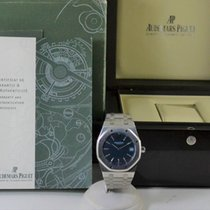 Audemars Piguet Royal Oak Selfwinding Blue Dial Box and Papers
