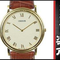 Seiko K18 Credor Mens Quartz Wrist Watch 5a 74-0530 White Dial...