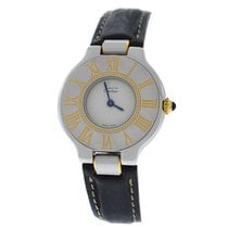 Cartier 21 Must de Cartier Gold/Steel 25mm White Roman numerals United States of America, New York, New York
