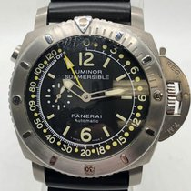 Panerai Luminor Submersible 1950 Depth Gauge Titanium 47mm Black United States of America, New York, New York