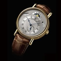 Breguet Classique Yellow gold 39mm Silver Roman numerals United States of America, New York, Scarsdale