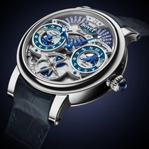 Bovet Dimier Récital 17 7-Day Triple Time Zone Moon Phase