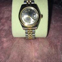 Rolex 26mm Kwarcowy 1972 używany Lady-Datejust Szary