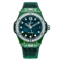 恒寶 39mm 自動發條 新的 Big Bang (Submodel) 綠色