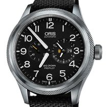 Oris Big Crown ProPilot Worldtimer 01 690 7735 4164-07 5 22 15FC new