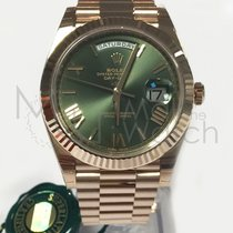 Rolex Day-Date 40 Rose gold 40mm Green