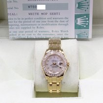 Rolex Lady-Datejust Pearlmaster Yellow gold 29mm Mother of pearl United States of America, California, San Diego