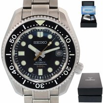 Seiko Prospex Steel 45mm Black United States of America, New York, Huntington