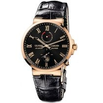 Ulysse Nardin Spasskaya Tower Rose gold 43mm Black Roman numerals