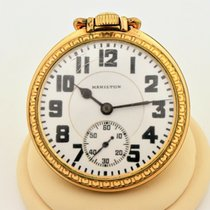 Hamilton 51mm Manual winding Railroad pre-owned