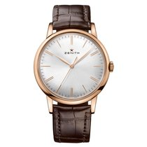 Zenith Elite 6150 Rose gold 42mm Silver
