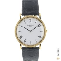 Patek Philippe Calatrava Or jaune 32mm Blanc Romain