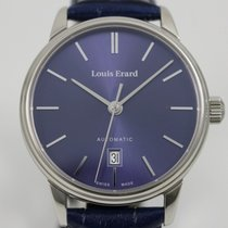 Louis Erard Steel 40mm Automatic 31A0167 new
