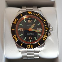 Delma Steel 47mm Manual winding Blueshark ll new