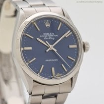 Rolex Steel 34mm Blue No numerals United States of America, California, Beverly Hills