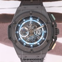 Hublot King Power Keramik 48mm Transparent Keine Ziffern