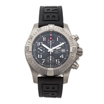 Breitling Avenger Bandit pre-owned 45mm Grey Chronograph Date Rubber