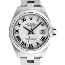 Rolex Oyster Perpetual Lady Date 26mm Blanc Romain