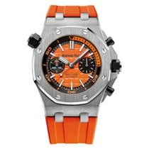Audemars Piguet Royal Oak Offshore Diver Chronograph Steel 42mm Orange No numerals United States of America, New York, New York