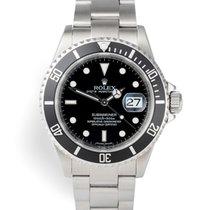 Rolex Submariner Date 16610 Muy bueno Acero 40mm Automático