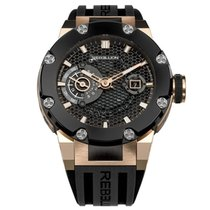 Rebellion pre-owned Automatic 49mm Black