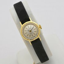 Tissot Yellow gold 17mm Manual winding pre-owned