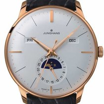 Junghans Meister Calendar Steel 40.4mm Silver No numerals United States of America, Florida