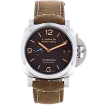 Panerai Luminor Marina 1950 3 Days Automatic Steel 44mm Brown Arabic numerals
